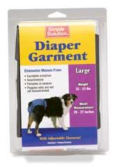 Diaper Garment for Dog