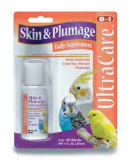 Skin And Plumage Liquid Supplement