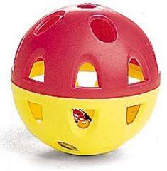 Jumbo Neon Lattice Ball With Bell