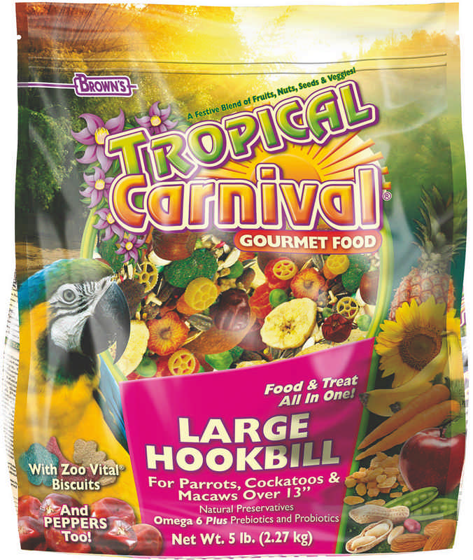 Tropical Carnival Large Hookbill Food