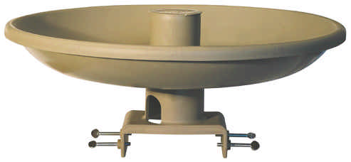 Heated Birdbath With Feeder