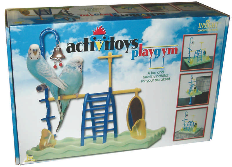 Activitoy Play Gym For Parakeets