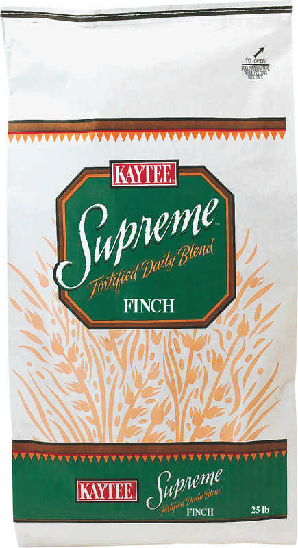 Supreme Finch Food