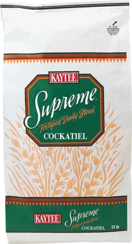 Supreme Cockatiel Mix