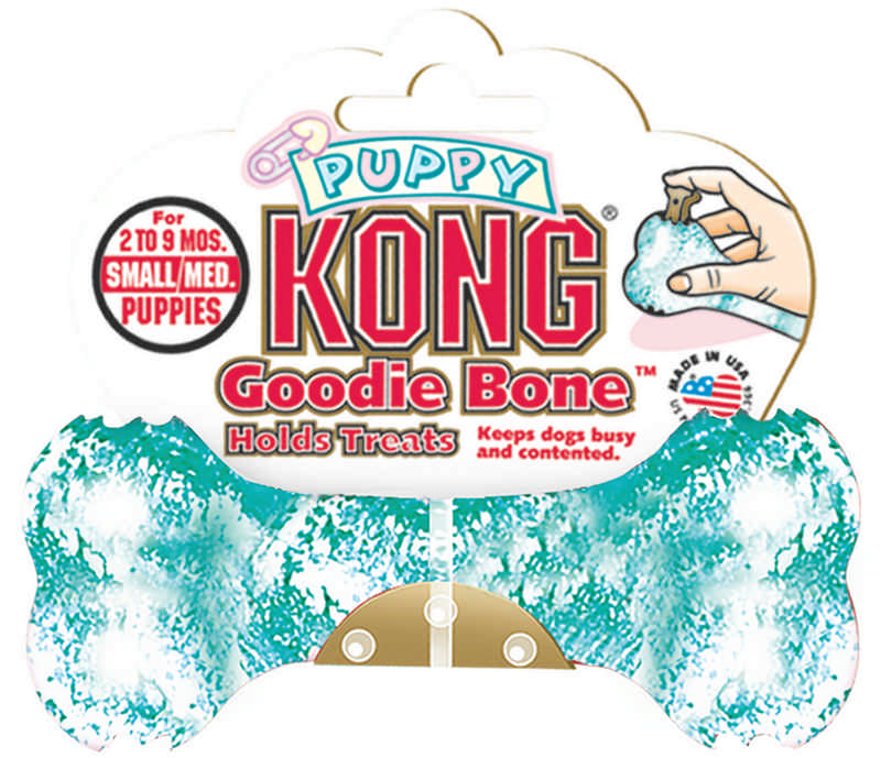 Puppy KONG Goodie Bone - Holds Treats