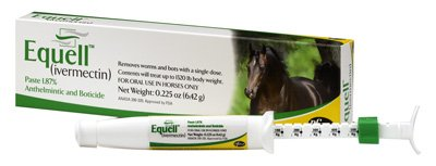 Equell Ivermectin Paste Horse Wormer