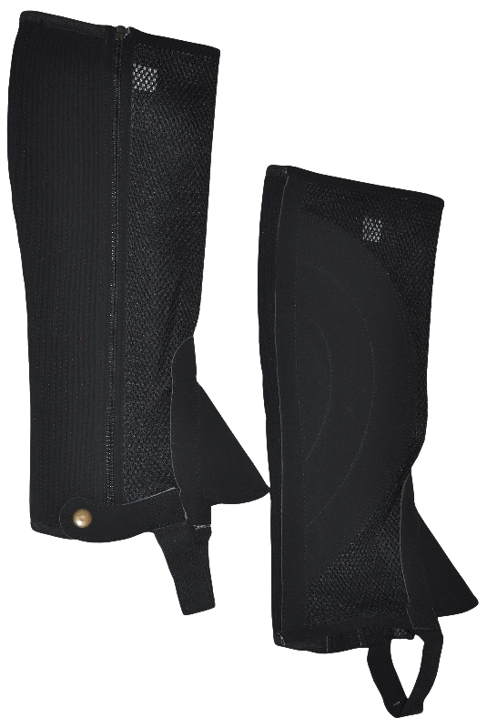 Air-Flow Mesh Half Chaps with Gusset
