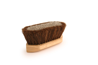 Legends Poly/Horsehair Pocket Grooming Brush