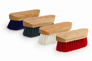 Legends Stiff Poly Pocket Grooming Brush - 12pc Display