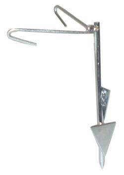 BORDER-PATROL Chain-Link Fence Anchor