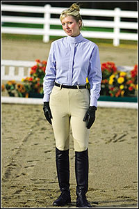 OPEN BOX ITEM: TuffRider Cotton Side Zip Breeches
