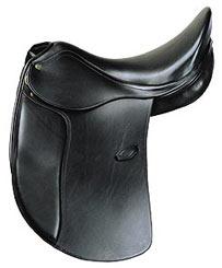 Henri de Rivel Pro Buffalo Dressage Saddle (Flocked) With Special D-Ring