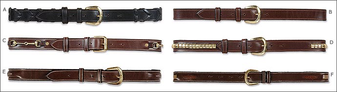 HDR Windowpane Leather Belt
