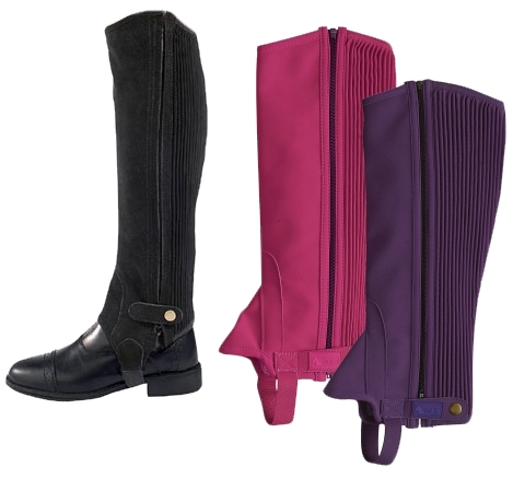 Dublin Child Easy Care Half Chaps