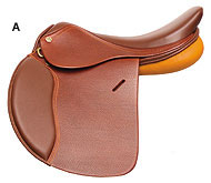 HDR Advantage Club Close Contact Saddle