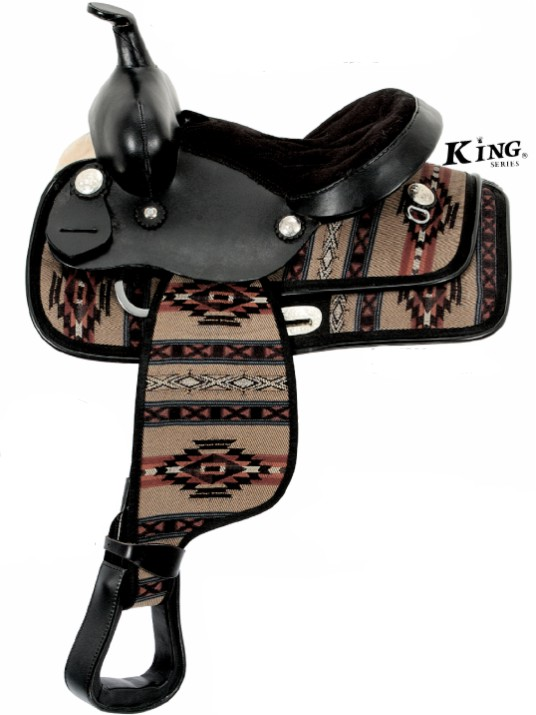 KING SERIES Southwest Neutron Pony Saddle