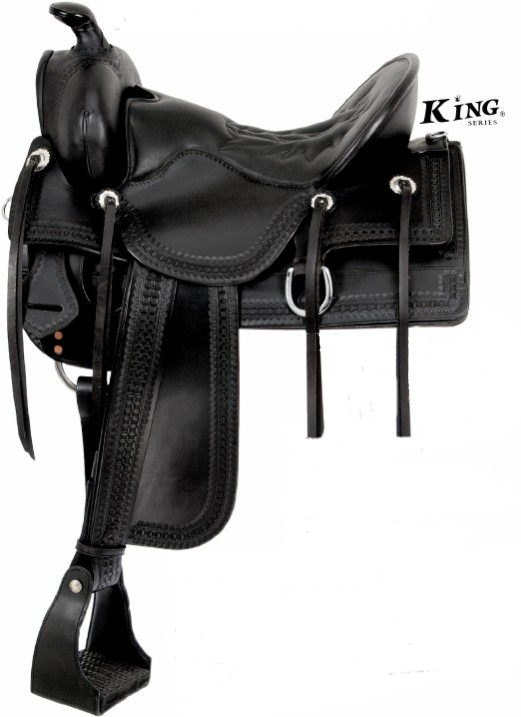 King Series Old Time Trail Rider Saddle