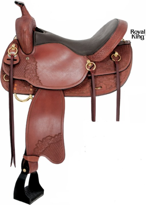 Royal King Memphis Trail Saddle