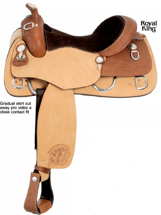 ROYAL KING Jasper Training Saddle