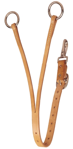 TORY LEATHER Long Training Fork - Tongue Buckle
