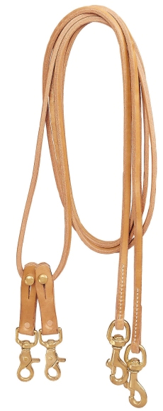 TORY LEATHER Pulley Draw Reins