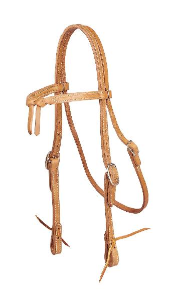 TORY LEATHER Brow Knot Headstall