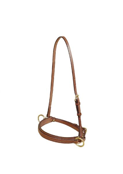 TORY LEATHER Bridle Leather Lunge Caveson