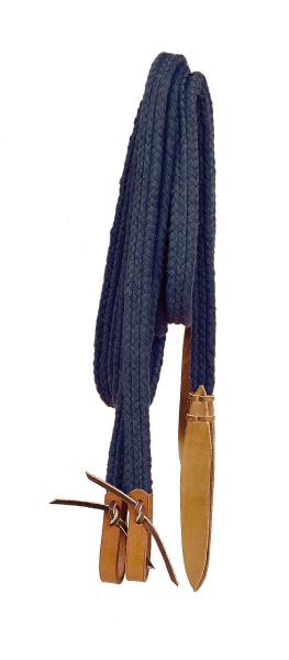 TORY LEATHER Flat Braided Cotton Reins - Water Straps