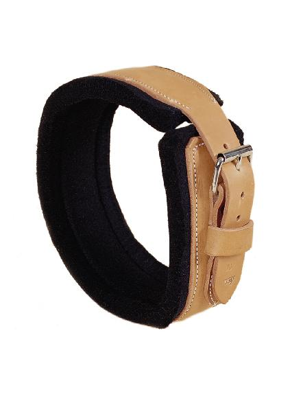 TORY LEATHER Leather & Wool Felt Jowl Sweat