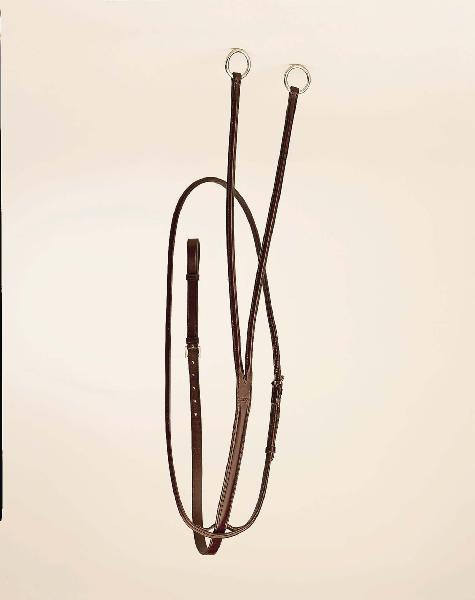 TORY LEATHER Round Raised Running Martingale