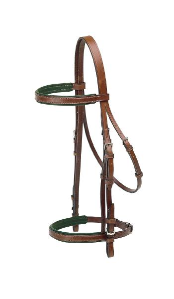 TORY LEATHER Padded Headstall