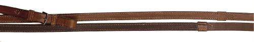 TORY LEATHER English Reins with Rubber Inside Grip