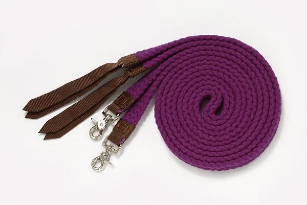 Flat Cotton Split Reins