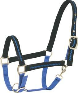 Abetta Nylon Halter with Trim