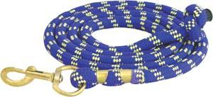 Abetta Braided Nylon Lead with Brass Snap