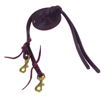 Tucker Bridle Reins Split 5/8""