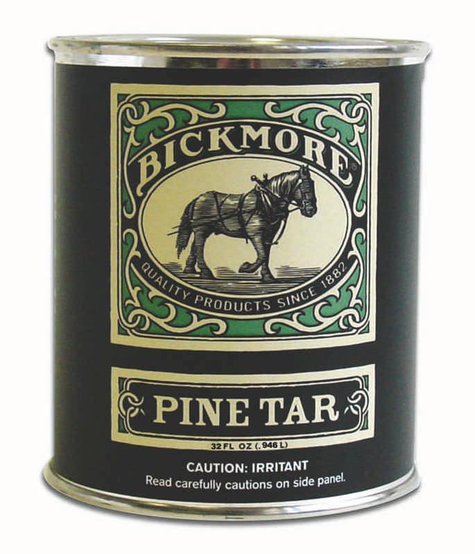 Bickmore Pine Tar Hoof Care Formula For Horses