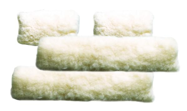 Perri's 4 Piece Sheepskin Fleece Halter Set