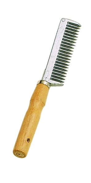 Perri's Wooden Handle Tail Comb