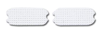 Perri's White Fillis Stirrup Pads