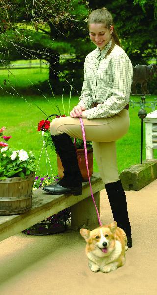 Perri's Adult hook & loop fastener Half Chaps