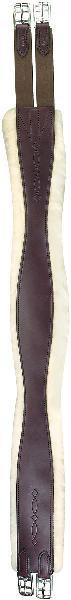 Perri's Leather Sheepskin Overlay Girth