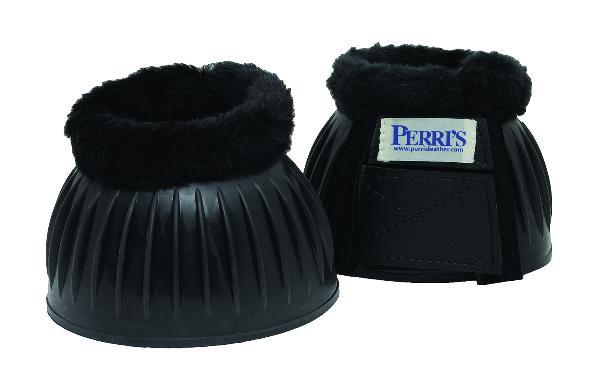 Perri's Double hook & loop fastener Fleece Bell Boots