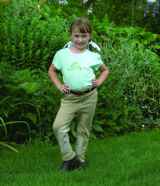 Perri's Children's Front - Zip Knee Patch Jodhpur