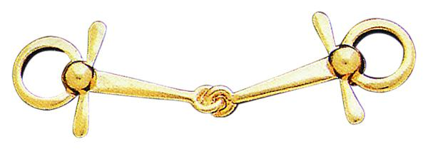 Perri's Gold Full Cheek Snaffle Pin
