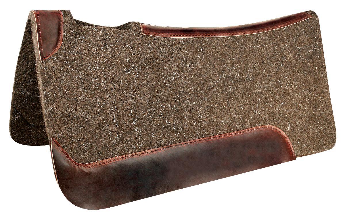 REINSMAN Wool Contour Herculon Pad - Corral Beige Print