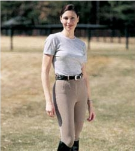 ON COURSE Cotton Natural K/P Breech