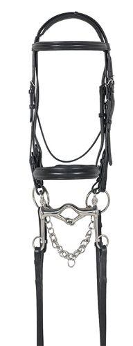Avalon Comfort Crown Double Dressage Bridle