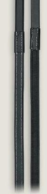 Avalon Rubber Lined Reins w-Buckle Ends