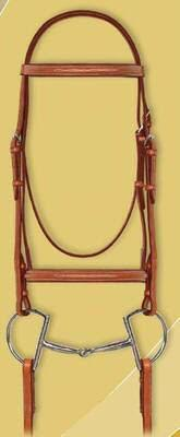 Ovation Fancy Raised Padded Bridle with laced reins.